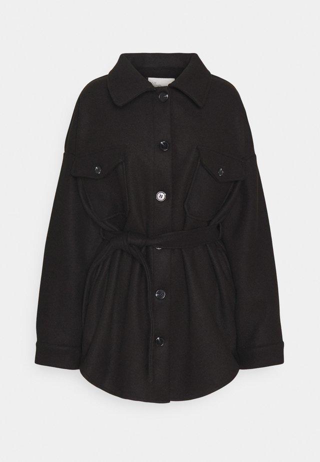 MY DEAREST SHACKET - Short coat - black
