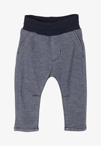 s.Oliver - Tracksuit bottoms - dark blue melange - 0