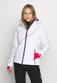 CMP - WOMAN JACKET ZIP HOOD - Ski jacket - bianco - 0
