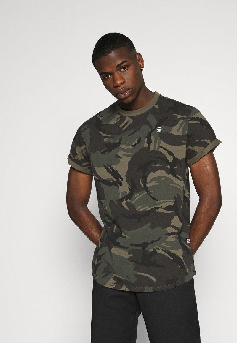 G-Star - LASH R T S\S - T-shirt med print - combat dutch camo