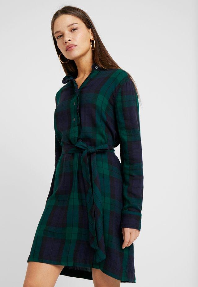 HENLY  - Shirt dress - blackwatch