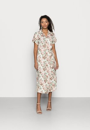 VMINES WIDE CALF SHIRTDRESS - Shirt dress - birch/ines
