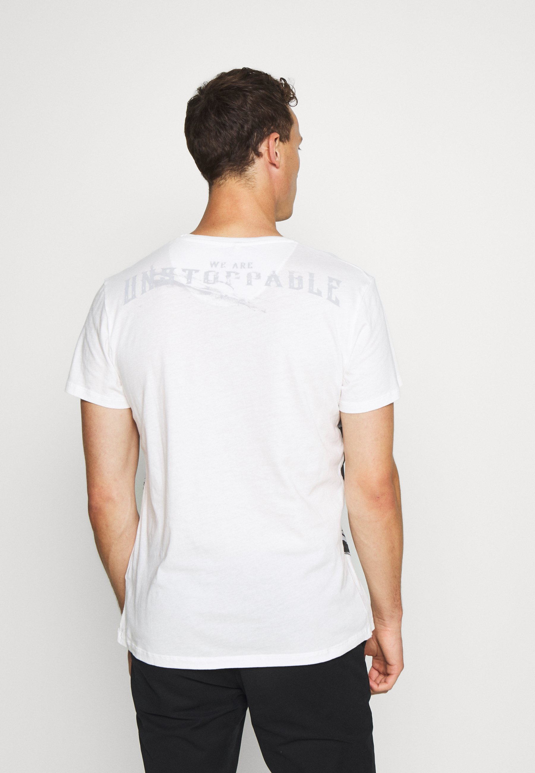 Key Largo Twins Round - T-shirts Med Print Offwhite