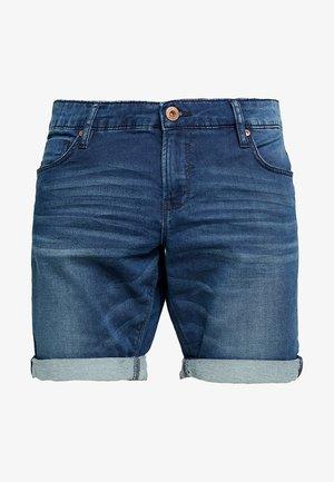 TUCKY - Denim shorts - dark used