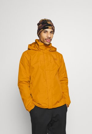 RESOLVE JACKET - Hardshell jacket - citrine yellow