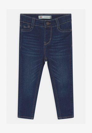 710 SUPER SKINNY - Vaqueros pitillo - dark-blue denim