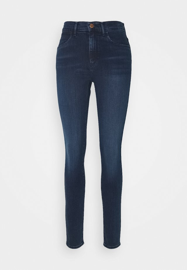 HIGH RISE BODY BESPOKE - Jeansy Skinny Fit - solar blue