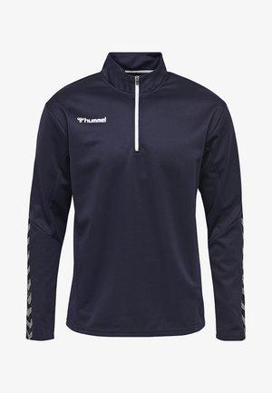 HMLAUTHENTIC - Sweatshirt - marine