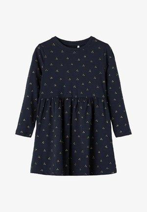 Jersey dress - dark sapphire