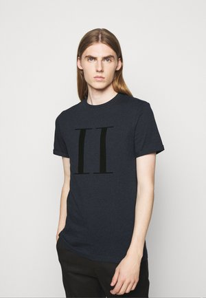 ENCORE  - Print T-shirt - dark navy/black