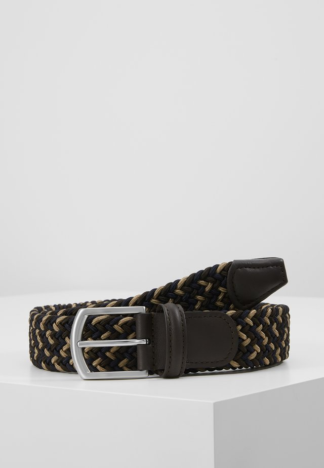 STRECH BELT UNISEX - Gevlochten riem - mulit-coloured