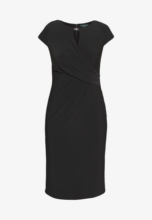MID WEIGHT DRESS - Vestido de tubo - black