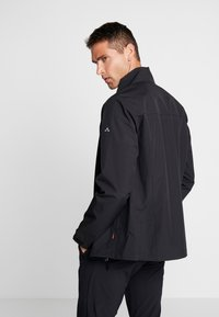 Vaude - HURRICANE - Soft shell jacket - black - 2