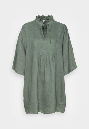Shirt dress - sage green