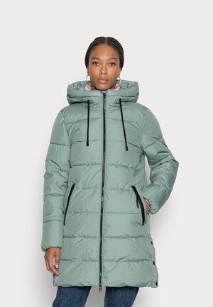 Winter coat - dusty green