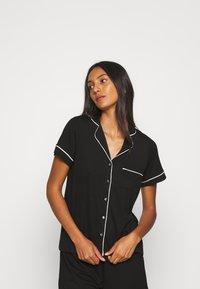 Lindex - CISSI - Haut de pyjama - black - 0