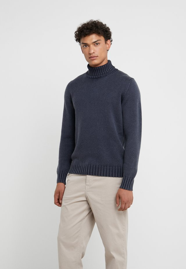 TURTLE NECK - Jumper - blue