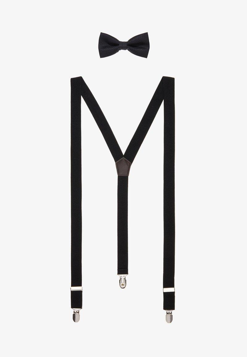 Only & Sons - ONSBOWTIE SUSPENDER SET - Bow tie - black
