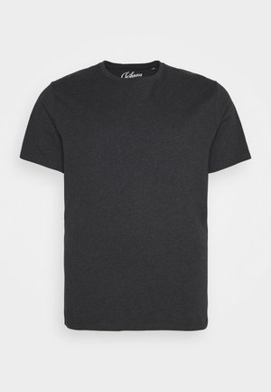 ESSENTIAL CREW NECK TEE - Basic T-shirt - charcoal