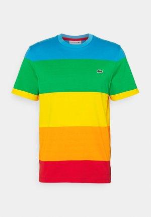 POLAROID UNISEX - T-shirt print - fiji/malachite/gypsum/orpiment/corrida
