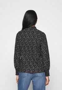 ONLY - ONLZILLE NAYA SMOCK - Long sleeved top - black/lavender - 2