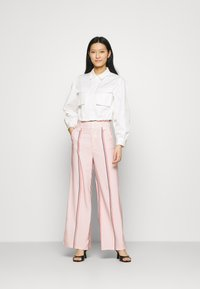 Mossman - THE SHADOW SHIRT - Button-down blouse - white - 1
