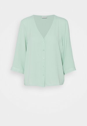 JDYCAPOTE SHIRT - Blouse - pastel turquoise