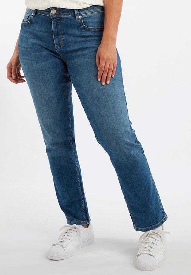 ROSE - Straight leg jeans - blue
