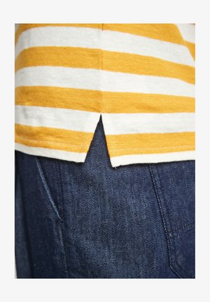 Print T-shirt - yellow stripes