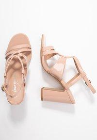 New Look - SWIRLEY - High heeled sandals - oatmeal - 3