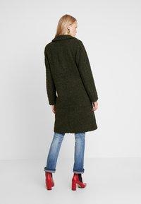 Q/S designed by - Winter coat - dark olive - 2