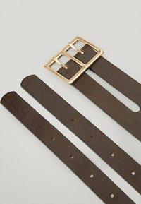 Massimo Dutti - Belt business - brown - 1