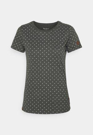 REGINAS - Print T-shirt - charcoal