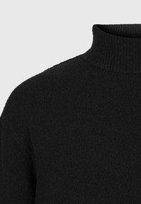AllSaints - EAMONT FUNNEL - Fleece jumper - black - 3