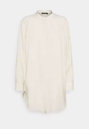 BLOUSE LONG SLEEVE - Button-down blouse - raw cream