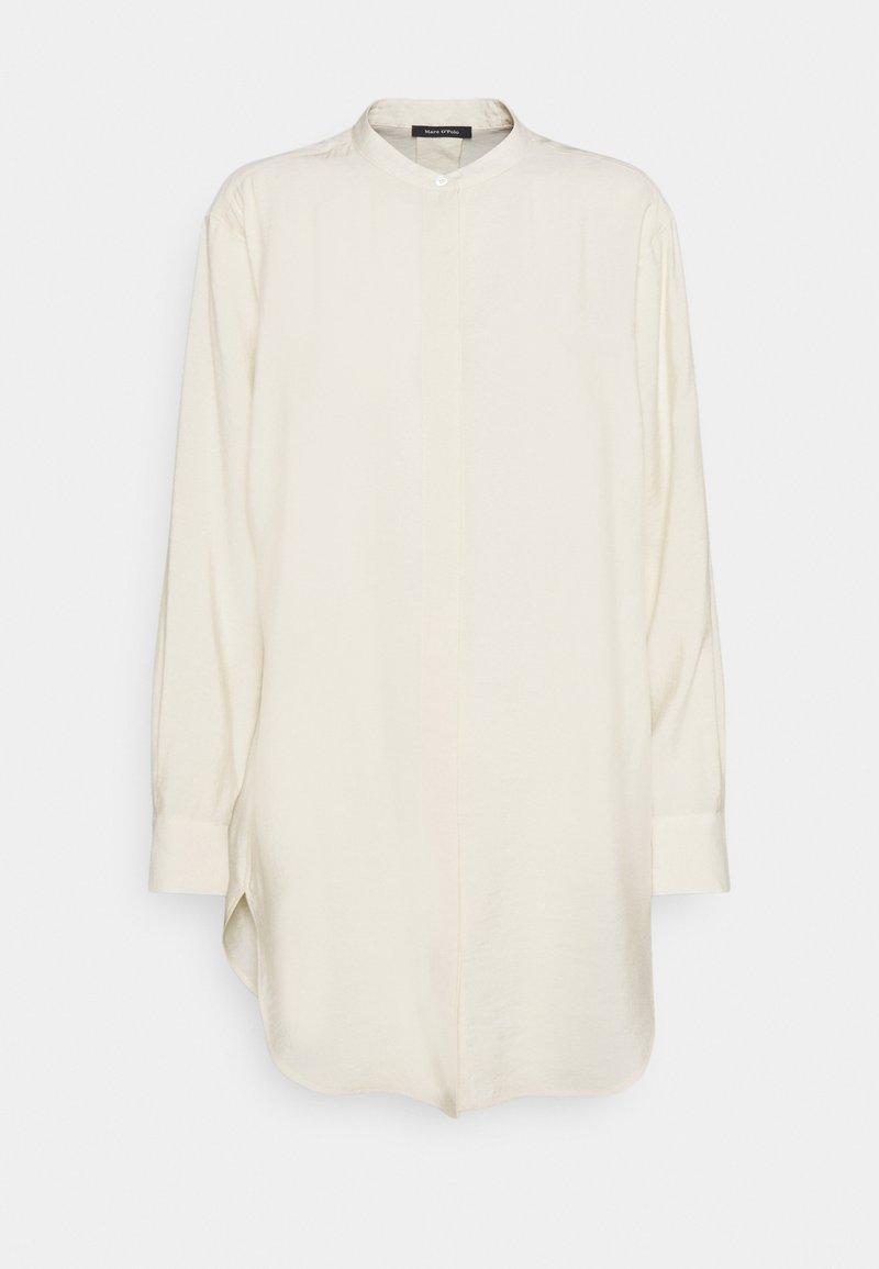 Marc O'Polo - BLOUSE LONG SLEEVE - Button-down blouse - raw cream