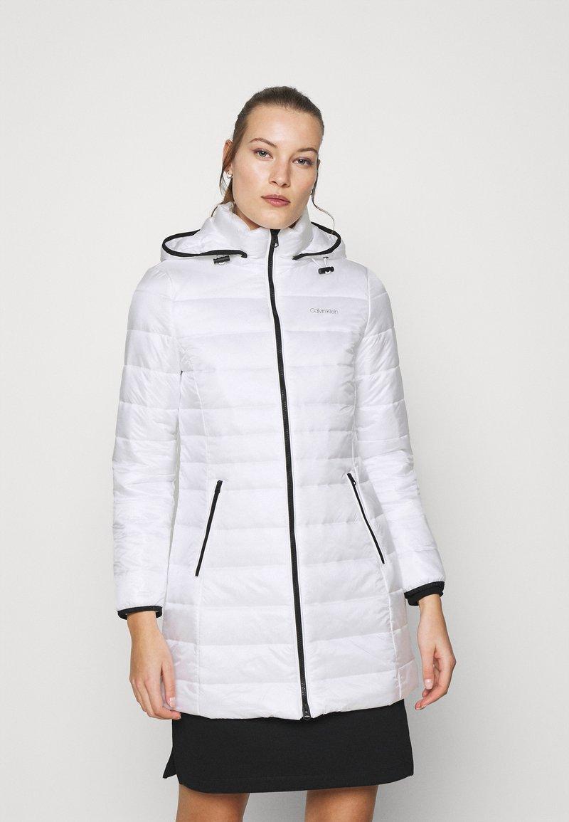 Calvin Klein - COAT - Winter coat - offwhite