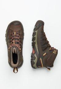 Keen - TARGHEE III MID WP  - Bergschoenen - bungee cord/redwood - 1