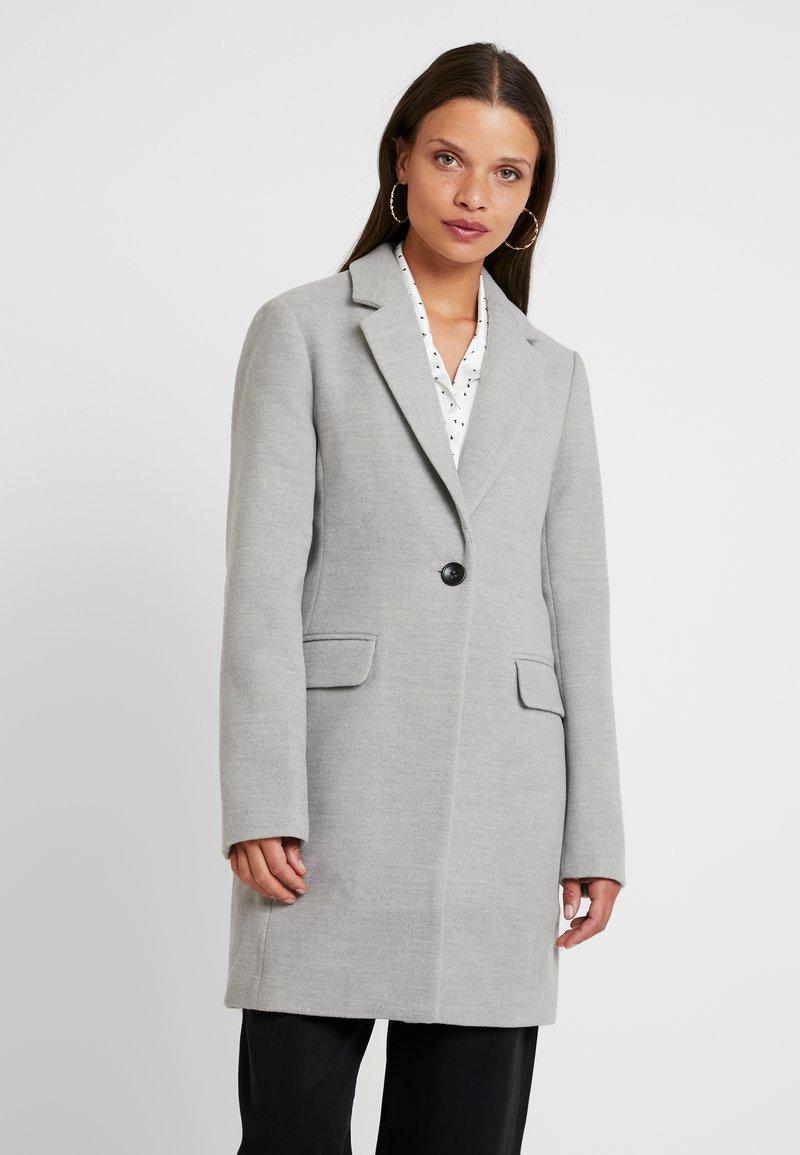 Even&Odd Petite - Classic coat - mottled light grey