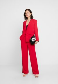 Nly by Nelly - MY FAVOURITE PANTS - Trousers - red - 2