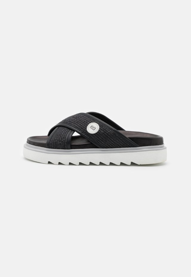 AMALFI  - Pantofle - black