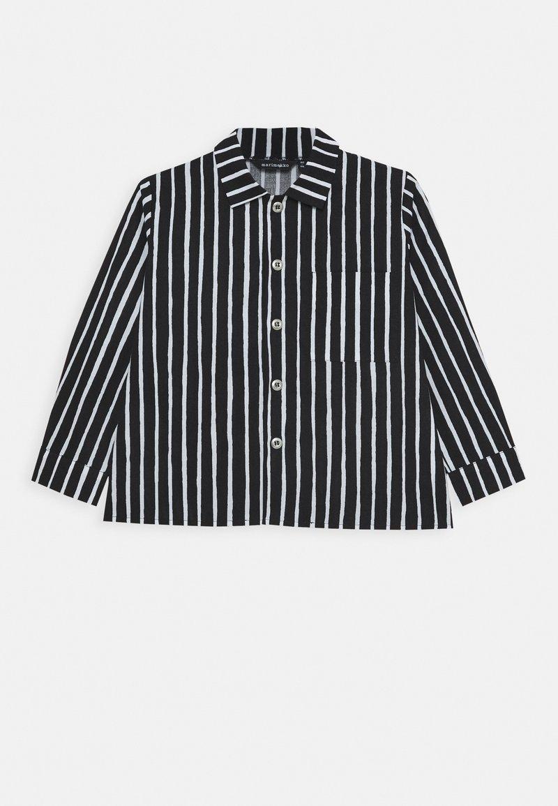 Marimekko - PIKKUPOJANPAITA - Shirt - black/white