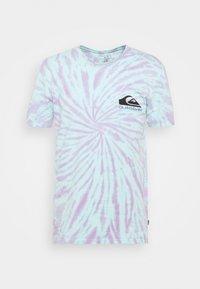 Quiksilver - SLOW LIGHT - Print T-shirt - blue tint - 4