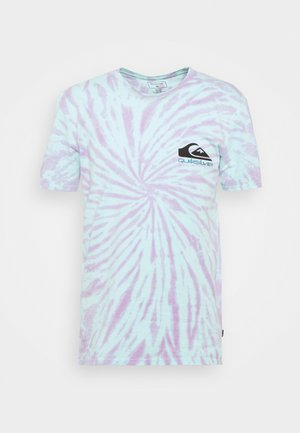 SLOW LIGHT - Print T-shirt - blue tint