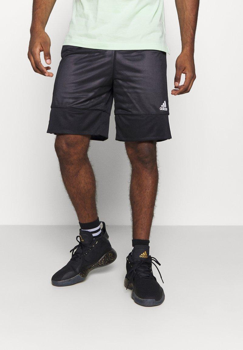 adidas Performance - SPEED REVERSIBLE SHORTS - Sports shorts - black