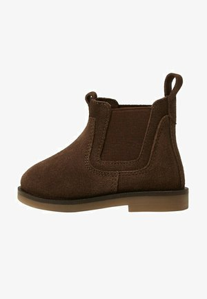 Korte laarzen - schokolade