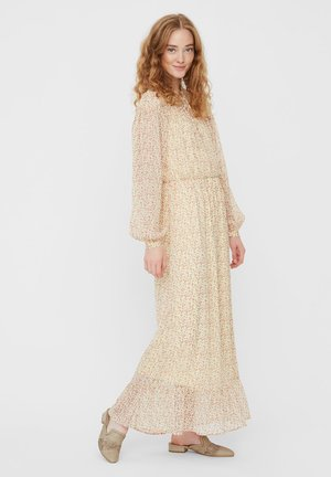 Maxi dress - pale banana