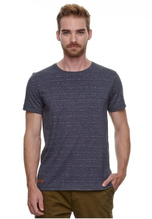 STEEF - Print T-shirt - navy