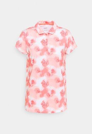 CLOUDSPUN WATERCOLOR  - Polo shirt - georgia peach/ignite pink