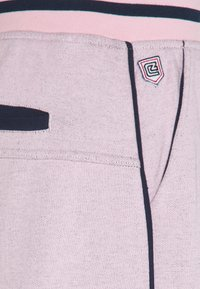 Schott - PAUL MODE - Tracksuit bottoms - stade-pink/blue/navy - 5